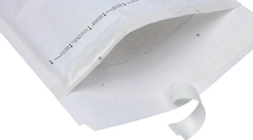 Envelop Quantore luchtkussen nr11 120x175mm wit 200stuks-3