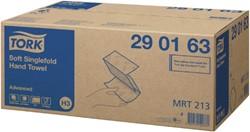 Handdoek Tork H3 290163 Advanced ZZ 2laags 23x25cm 15x250st