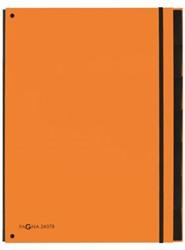 Sorteermap Pagna Trend 7 tabs A4 PP oranje