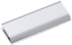 Klemlijst MAUL 11.3x4cm aluminium zelfklevend