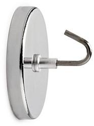 Magneet met haak MAUL 52mm trekkracht 9kg chroom