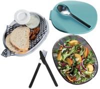 Saladebox Ellipse Nordic groen-3