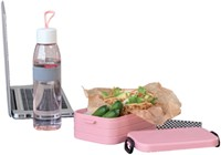 Lunchbox Take a break midi Nordic roze-3