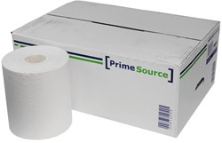 Poetsrol PrimeSource Midi 1laags 275mx21,5cm wit 6rollen