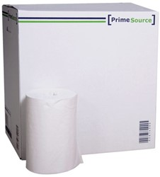 Poetsrol PrimeSource Mini 1laags 120mx21,5cm wit 11rollen