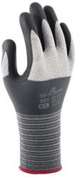 Handschoen Showa 381 grip nitril grijs small