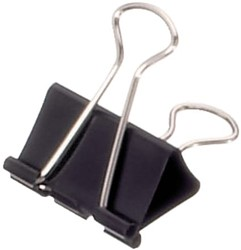Papierklem Maul 213 Foldback 32mm capaciteit 13mm zwart