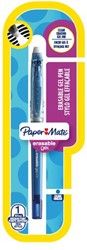 Gelschrijver Paper Mate Inkjoy Erasable blauw