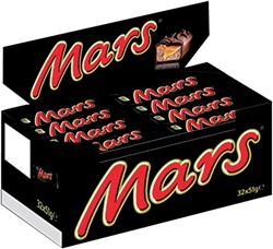 Mars repen single 51gr 32 stuks