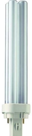 Spaarlamp Philips Master PL-C 2P 26W 1800 Lumen 830 warm wit-2
