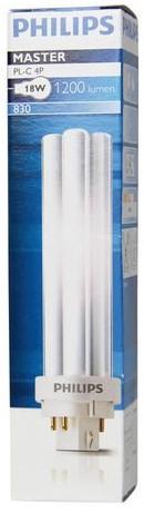 Spaarlamp Philips CorePro PL-C 4P 18W 1200 Lumen 830 warm wt-3