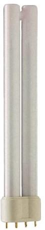 Spaarlamp Philips Master PL-L 4P 18W 1200 Lumen 830 warm wit-1
