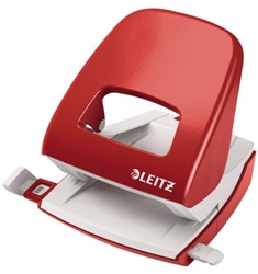 Perforator Leitz New NeXXt 5008 2-gaats 30vel rood