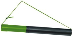 Tekeningkoker Linex zoom 70-124cm doorsnee 7,5cm zwart