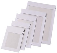 Envelop Quantore bordrug P185 185x280mm zelfkl. wit 100stuks-1