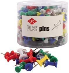 Push pins LPC 200stuks assorti