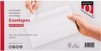 Envelop Quantore bank EA5/6 110x220mm zelfklevend wit 50stuk-3