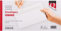Envelop Quantore bank EA5/6 110x220mm zelfklevend wit 25stuk-3