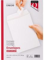 Envelop Quantore akte C5 162x229mm zelfklevend wit 25stuks-3