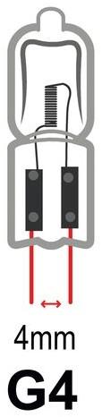Halogeenlamp Philips Capsule G4 10W 140 Lumen-2