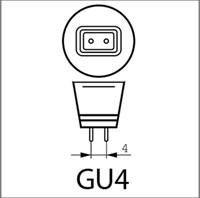 Ledlamp Integral G4 12V 1.1W 2700K warm licht 100lumen-3