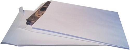 Envelop Quantore monsterzak 262x371x38mm zelfkl. wit 10stuks