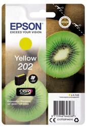 Inkcartridge Epson 202 T02F44 geel