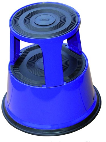 Opstapkruk Desq 42cm metaal blauw-2