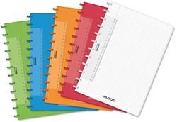 Schrift Adoc colorlines A4 144blz gelinieerd PP assorti