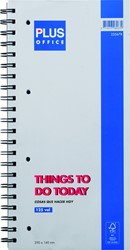 Things to do today Budget notitieboek