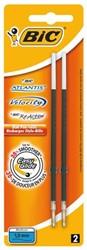 Balpenvulling Bic tbv diverse balpennen zwart medium à 2st