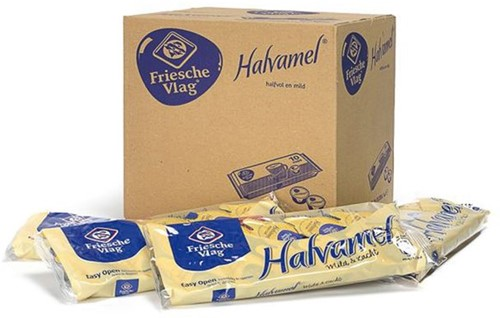 Koffiemelk Friesche vlag halvamel 7,5 gram 10 cups-3