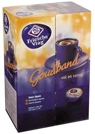 Koffiemelk Friesche vlag vol goudband 7.5 gram 400 stuks-1