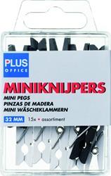 Miniknijper Plus Office 34mm assorti