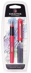 Kalligrafiepen Sheaffer Viewpoint 0.8mm roze in blister