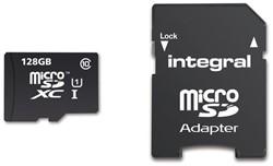 Geheugenkaart Integral Micro SDXC class10 128GB