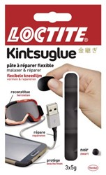 Kneedlijm Loctite Kintsuglue flexbiler 5gram zwart