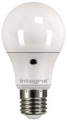 Ledlamp Integral Auto Sensor E27 6,6W 5000K warm 510lumen
