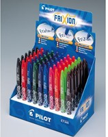 Rollerpen PILOT Frixion BL-FR7 0.35mm assorti display 60 stuks