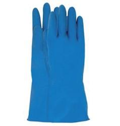 Handschoen huishoud Nova latex L large blauw