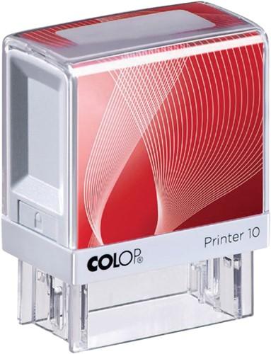 Tekststempel Colop Printer 10 +bon 3regels 27x10mm-3