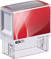 Tekststempel Colop Printer 40 +bon 6regels 59x23mm-3