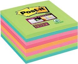Memoblok 3M Post-it 654 Super Sticky 76x76mm rainbow 360 vel