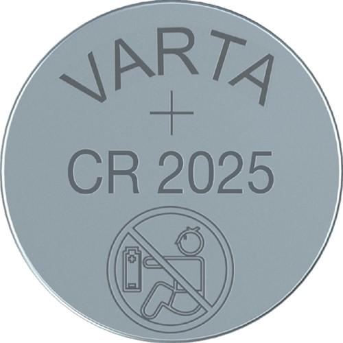 Batterij Varta knoopcel CR2025 lithium blister à 1stuk-2