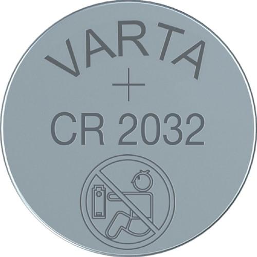 Batterij Varta knoopcel CR2032 lithium blister à 1stuk-2