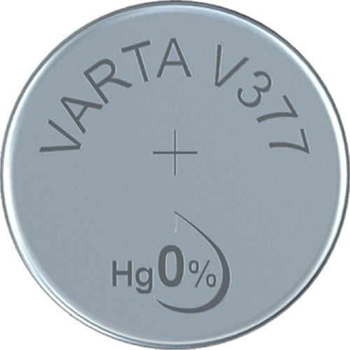 Batterij Varta knoopcel V377 horloge blister à 1stuk-2