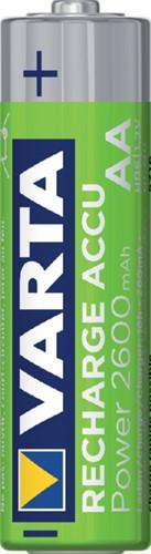 Batterij oplaadbaar Varta 2xAA 2600mAh ready2use-2