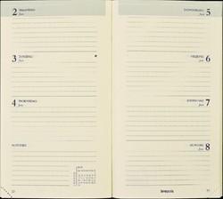 Agenda 2021 Brepols Interplan gebonden 7dag/2pagina's zwart