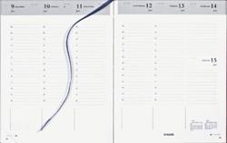 Agenda 2022 Brepols Timing 7dag/2pagina's Nederlands bordeaux