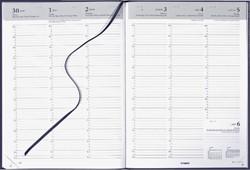 Agenda 2022 Brepols Omega 7dag/2pagina's blauw